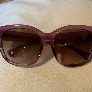 COACH Berry Horn Sunglasses